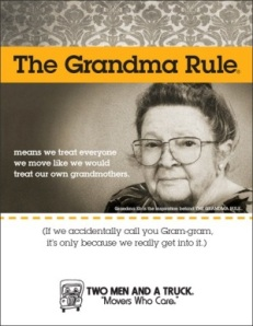 The Grandma Rule