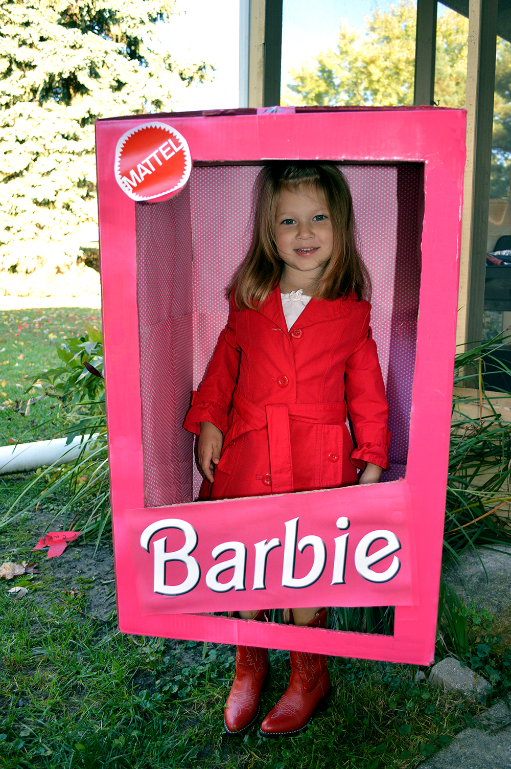 BarbieBoxCostume  sc 1 st  two men and a truck & 5 simple DIY Halloween costumes u2013 TWO MEN AND A TRUCK®
