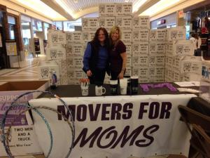Movers for Moms promotion in Traverse City MI