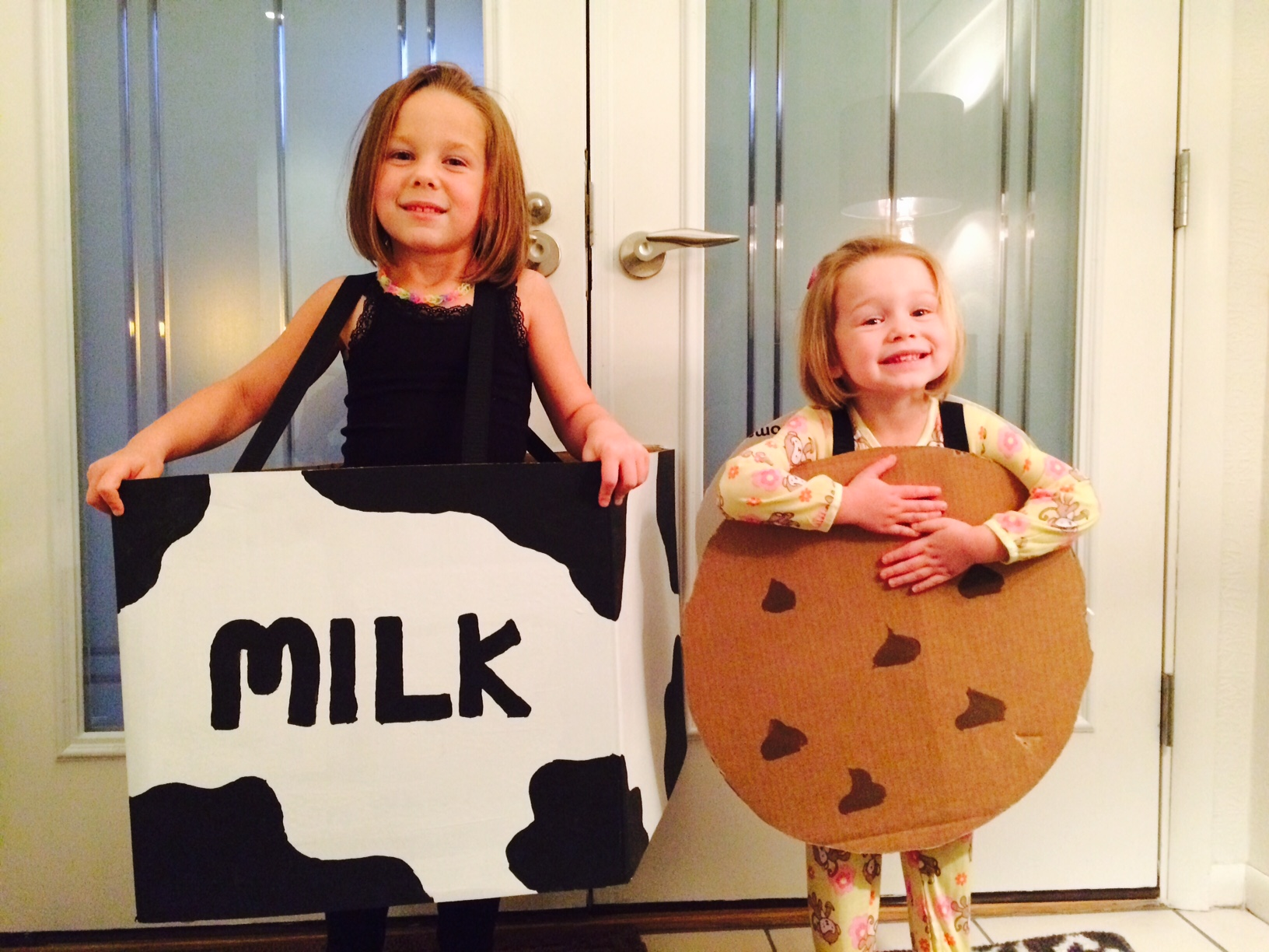 milk cookies - Halloween Box Costumes