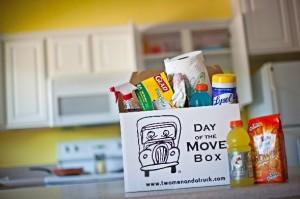 Blog photo of packed box