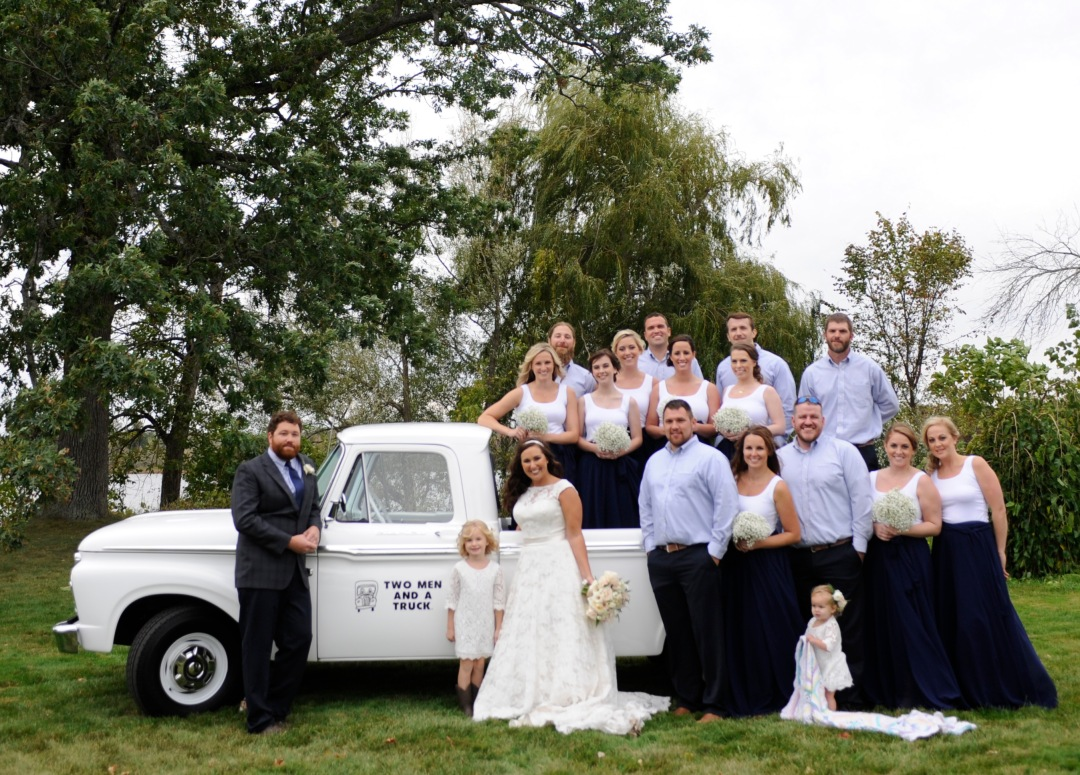 TWO MEN AND A TRUCK Wedding