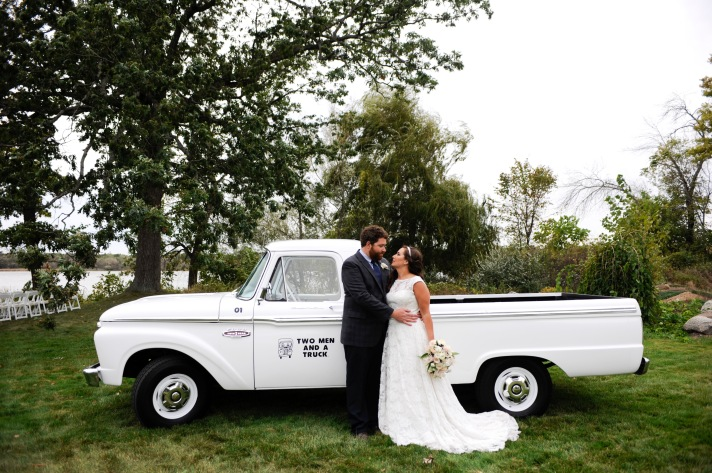 TWO MEN AND A TRUCK Wedding Johanna and Ryan