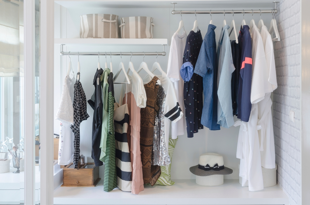 Tips to an organized closet!