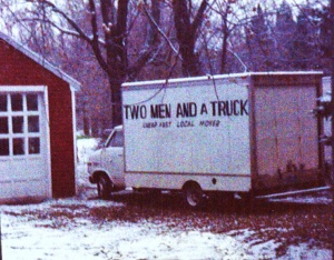 TWO MEN AND A TRUCK first office