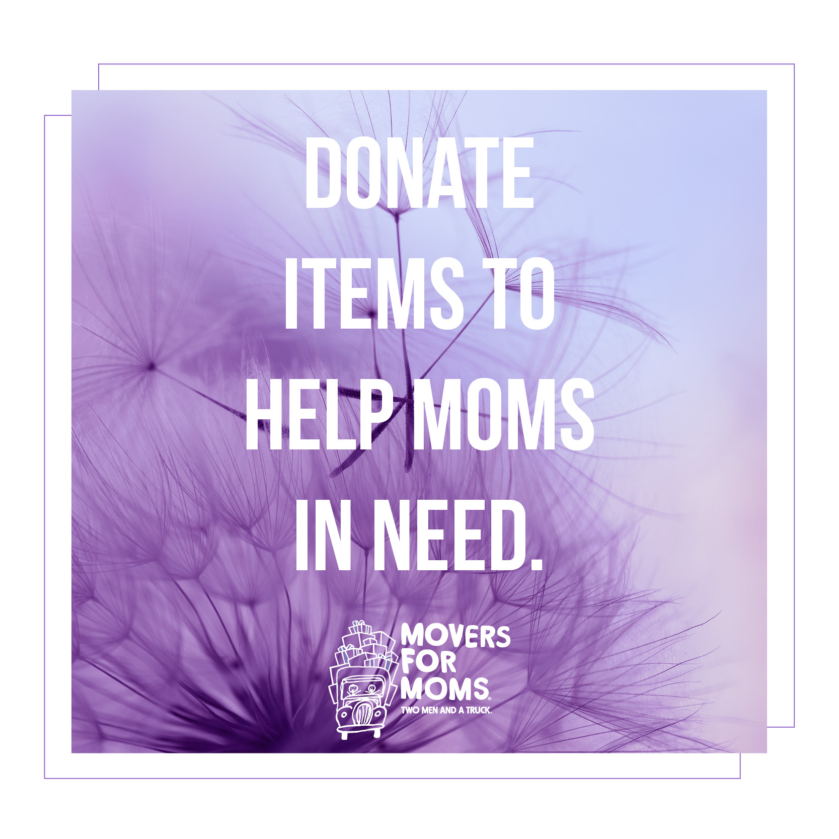 Support Movers for Moms in your community